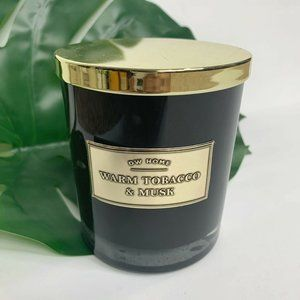 DW Home Scented Candle Warm Tobacco and Musk 13.11